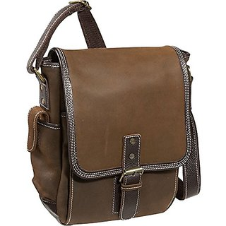 Bellino the Outback Sling iPad/Netbook Messenger, Brown