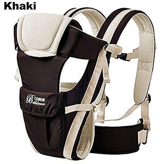 ELENKER Adjustable 4 Positions Carrier 3D Backpack Pouch Bag Wrap Soft Structured Ergonomic Sling Front Back Newborn Bab