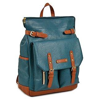 Copi Multipurpose easy fit Modern Design Deluxe Fashion Backpacks One Size Bluegreen