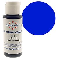 Americolor Oil Candy Food Coloring, 2.0-Ounce, Blue