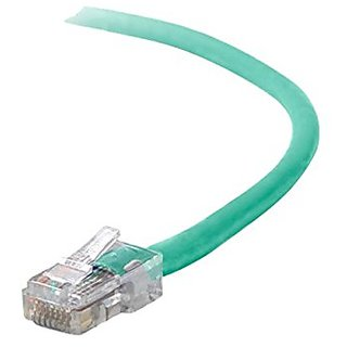 Belkin High Performance Patch Cable - 10 Ft - Green (A3L980-10-GRN)