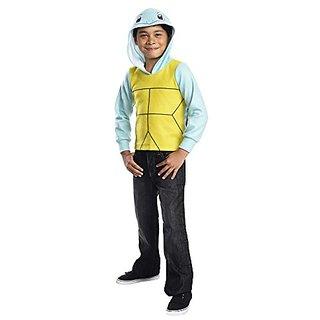 Rubies Costume Pokemon Squirtle Child Novelty Hoodie Costume, Medium