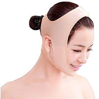 BIAL Anti Wrinkle Half Face Slimming Cheek Mask Lift V Face Line Slim up Belt Strap (M)