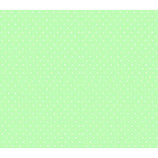 SheetWorld Fitted Square Playard Sheet 37.5 x 37.5 (Fits Joovy) - Pastel Green Pindots Woven - Made In USA