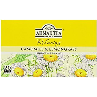 Ahmad Teas - Camomile & Lemongrass 1.4oz - 20 Tea Bags