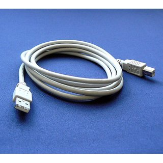 Canon Pixma iP3500 Printer Compatible USB 2.0 Cable Cord for PC, Notebook, Macbook - 6 feet White - Bargains Depot
