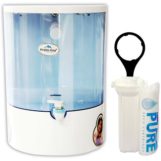 Aqua Ultra A1011 10L RO Water Purifier (White)
