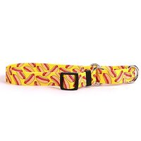 """Hot Dogs Martingale Control Dog Collar - Size Small 14"""" Long - Made In The USA"""