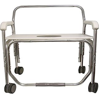 ConvaQuip 1328XD Bariatric Transport Shower Chair