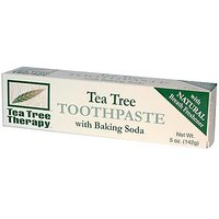 Tea Tree Therapy Tea Tree Tpste,Bak Soda, 5 Oz 6 Pk