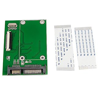 uxcell ZIF CE SSD HDD to 22P SATA Serial Adapter Converter w Flexible Cable