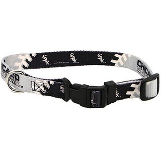 Chicago White Sox Adjustable Dog/Cat Pet Collar (X-Small)