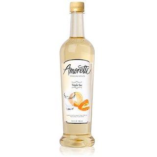 Amoretti Premium Syrup, Triple Sec, 25.4 Ounce