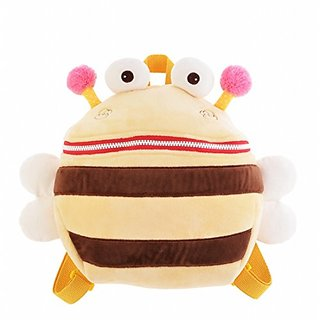 HWD Drum Eyes Plush Stuffed Animal Little Backpack,Plush Toys Doll.(Yellow Bee)