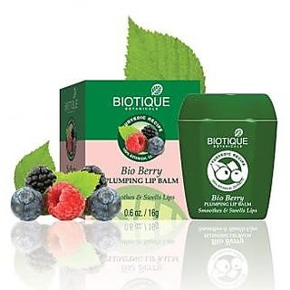 Biotique Bio Berry Plumping Lip Balm - Smoothes& Swells Lips 12 g