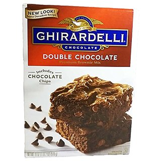 Ghirardelli Double Chocolate Brownie Mix (Pack of 2)