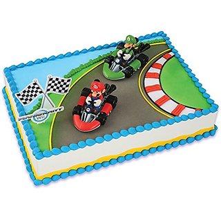 Mario Kart Wii Cake Topper (4 Pieces)