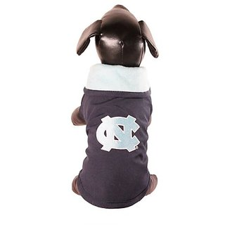 NCAA North Carolina Tar Heels All Weather Resistant Protective Dog Outerwear, Small
