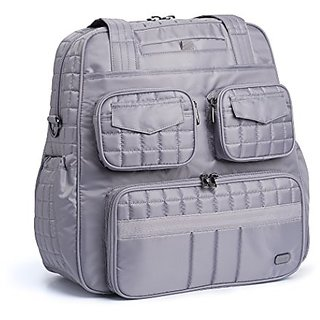 Lug Puddle Jumper Overnight/Gym Duffel Bag, Pearl Grey