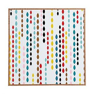 DENY Designs Framed Wall Art, Khristian A Howell Nolita Drops, Medium