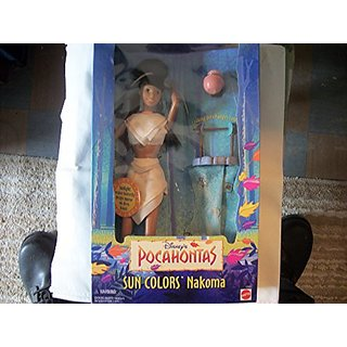 Disney Sun Colors NAKOMA doll friend of Pocahontas