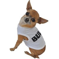 Ruff Ruff And Meow Dog Tank Top, Bully, White, Extra-Small