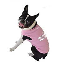 Ruff Ruff And Meow Dog Tank Top, Hoochie Poochie, Pink, Extra-Large