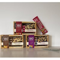 GLUTEN FREE:180 Snacks Gluten Free Trail Mix Nutritional Crunch Bars Variety Bundle Of 3 Boxes Of 5 Individually Wrapped