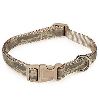 Casual Canine ZW5852 06 43 Digital Camo Collar, 6 to 10-Inch, Green