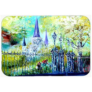 Carolines Treasures Desk Artwork Mouse Pad, Multicolor, 7.75x9.25