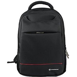 Zoweetek Shockproof Water Resistant Slim Lightweight Laptop Backpack Bussiness Notebook Computer Backpacks(Black&