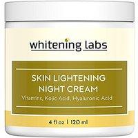 Whitening Cream Natural Skin Lightening Moisturizing And Anti Aging Benefits. Contains Vitamin C Hyaluronic Acid Green T