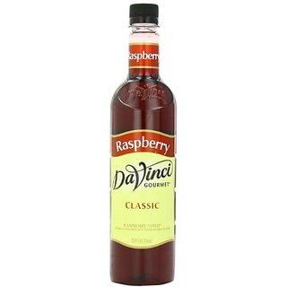 DaVinci Gourmet Classic Syrup, Raspberry, 25.4-Ounce Bottles (Pack of 3)