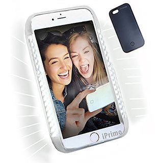 New iPrimio LED Soft Lighted Selfie Phone Case - Iphone 5 / Iphone SE - Great for a Selfie and Facetime, Dimmable. By iP