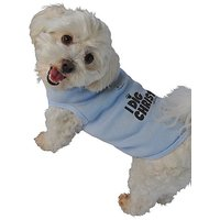 Ruff Ruff And Meow Dog Tank Top, I Dig Christ, Blue, Small