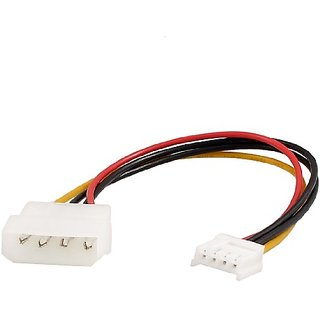 uxcell 4-pin to 4 Pin PC Cooling Fan Socket Adapter Extension Power Cable