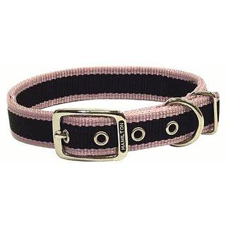 Hamilton 3-Stripe Double Thick Dog Collar