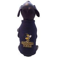 NCAA Georgia Tech Yellow Jackets Cotton Lycra Dog Tank Top, X-Small