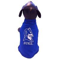 NCAA Duke Blue Devils Cotton Lycra Dog Tank Top, Medium