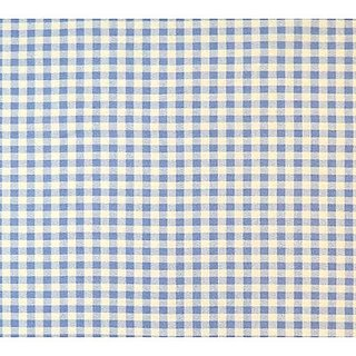 SheetWorld Fitted Cradle Sheet - Blue Gingham Check - Made In USA