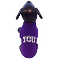 NCAA TCU Horned Frogs Cotton Lycra Dog Tank Top, XX-Large