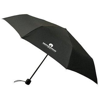 Weatherproof 43 Inch Manual Supermini Umbrella, Black, One Size