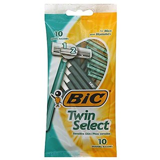 Bic Twin Select Sensitive Skin -- 10 ct.