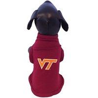 NCAA Virginia Tech Hokies Cotton Lycra Dog Tank Top, Large