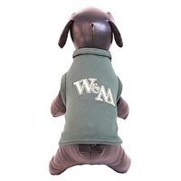 NCAA William & Mary Tribe Cotton Lycra Dog Tank Top, Small