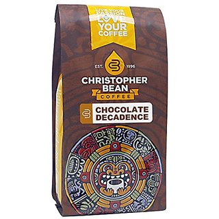 Christopher Bean Coffee Flavored Ground Coffee, Chocolate Decadence, 12 Ounce