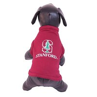 NCAA Stanford Cardinal Cotton Lycra Dog Tank Top, Small