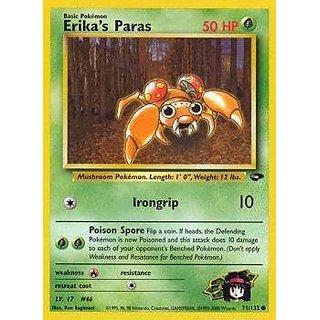 Pokemon - Erika's Paras (71) - Gym Challenge