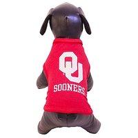 NCAA Oklahoma Sooners Cotton Lycra Dog Tank Top, X-Small