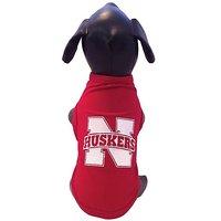 NCAA Nebraska Cornhuskers Cotton Lycra Dog Tank Top, Large